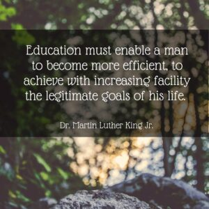 5 Quotes for Homeschool Moms from Martin Luther King, Jr. To learn more about Dr. King, check out the Martin Luther King Jr. Day lesson in the FREE Holiday Celebrations Online Unit Study. Enroll today.