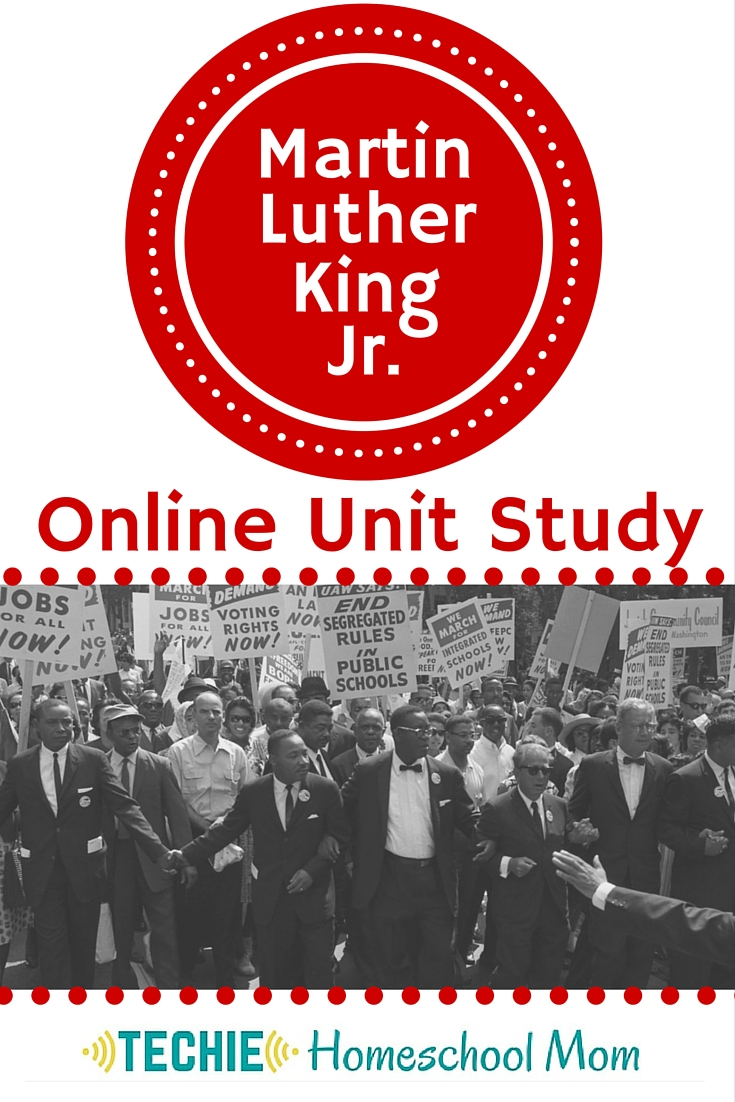 Martin Luther King JR Online Unit Study