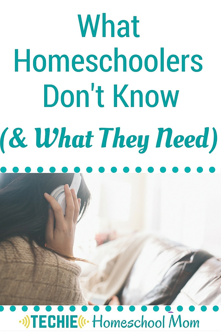 Homeschooled kids don't know how to learn like past generations did. Read to discover what they need.
