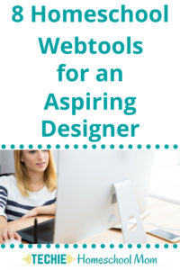 "Do you have an aspiring designer in your home? You can nurture their interest and point them towards information that will introduce them to design concepts. Your budding designer needs to ""play"" with the digital tools that real designers use. Check out these 8 Homeschool Webtools that ""real"" designers use."