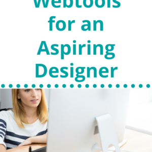 """Do you have an aspiring designer in your home? You can nurture their interest and point them towards information that will introduce them to design concepts. Your budding designer needs to """"play"""" with the digital tools that real designers use. Check out these 8 Homeschool Webtools that """"real"""" designers use."""