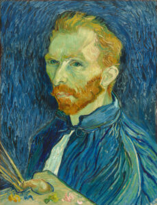 Learn how to create a self portrait Van Gogh style