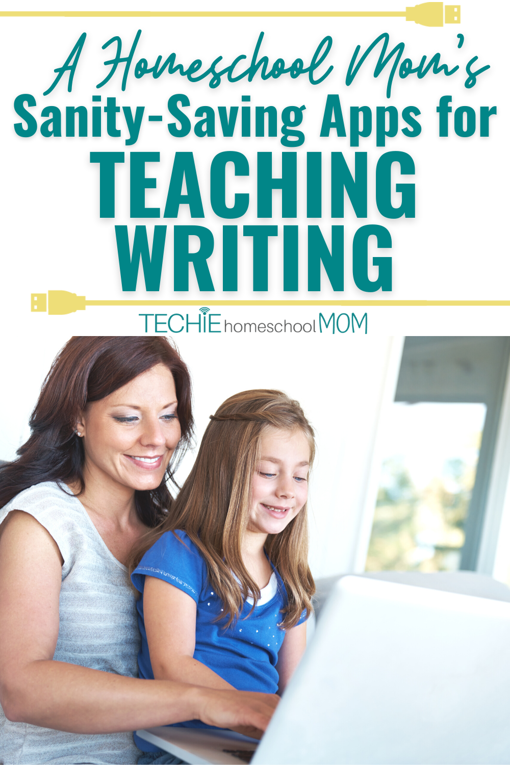 """The """"how to""""s of writing have changed with the development of technology. And homeschooling moms need to change the way to teach writing to your children. Using these 4 digital tools makes the writing process more efficient and prepares your children for a productive future in our tech-driven culture."""