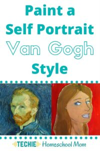 Paint a Self-Portrait Van Gogh Style