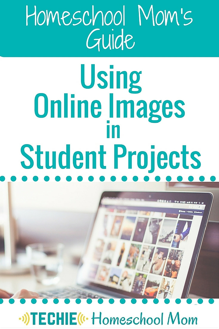 The Homeschool Mom's Guide: Using Online Images in Student Projects
