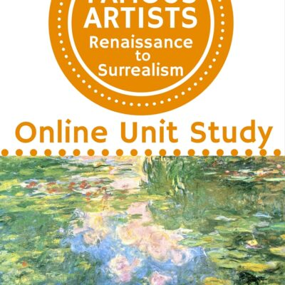 Famous Artists Online Unit Study