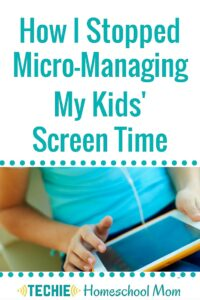 Why I Stopped Managing My Kids' Screen Time
