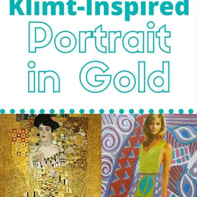 Create a Klimt-Inspired Portrait in Gold