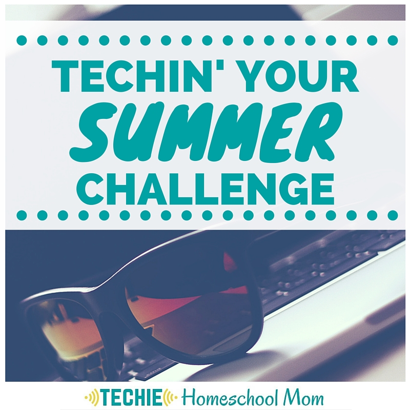 Sign up for the Techin' Your Summer Challenge. Call a truce in the Screen Time Battle and be deliberately digital summer. Receive two emails each week suggesting techie projects for your family. Complete the challenges, then share your success in our Facebook group and enter to win a prize. Read all about it and sign up today!