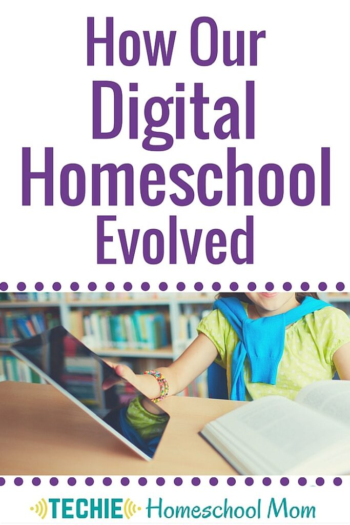 We've replaced workbooks with apps, textbooks with websites, and activity books with YouTube. What homeschooling resources have you replaced with online tools?