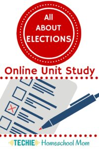 Enroll in the All About Elections Online Unit Study. With this online homeschool course, elementary and middle school students will discover the importance of voting. Read for more details and a preview lesson.