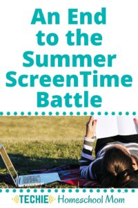 I got this radical idea about summer screen time. Instead of figuring out how to keep the kids off the computer, what if we intentionally put our our kids on electronics? Find out how.