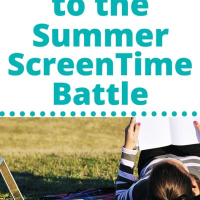An End to the Summer Screen Time Battle