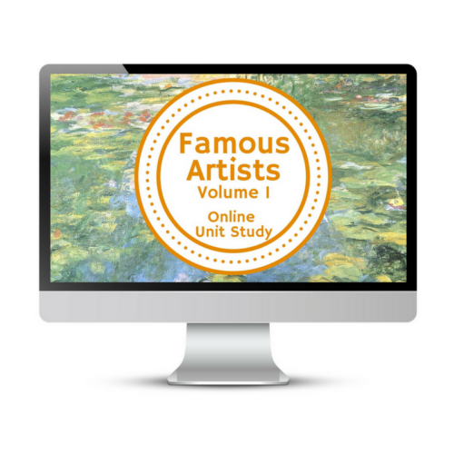 Famous Artists (Vol 1) Online Unit Study
