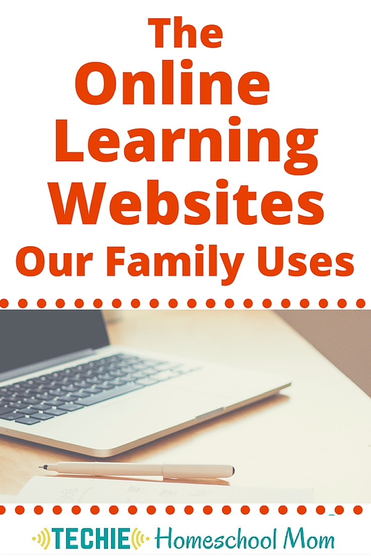 When people hear that we do most of our learning online, they are curious about which resources we use. These are the websites that we have liked best. #techinourhomeschool