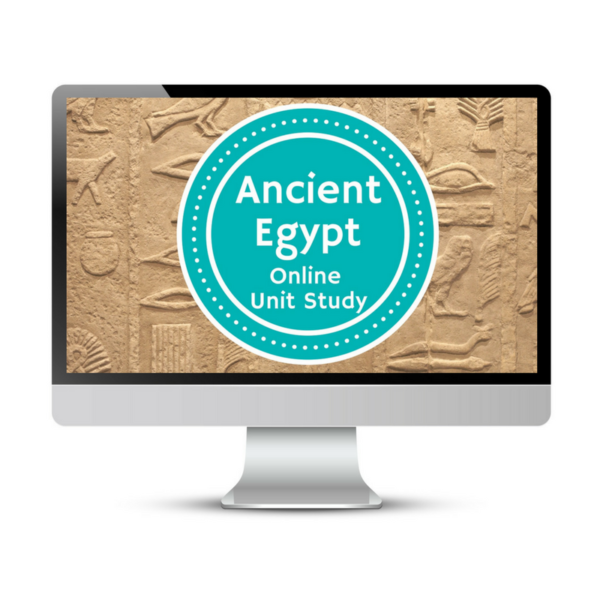 Ancient Egypt Unit Study. This homeschool curriculum integrates multiple subjects for multiple ages of students. Access websites and videos and complete digital projects. With Online Unit Studies' easy-to-use E-course format, no additional books and print resources are needed. Just gather supplies for hands-on projects and register for online tools.