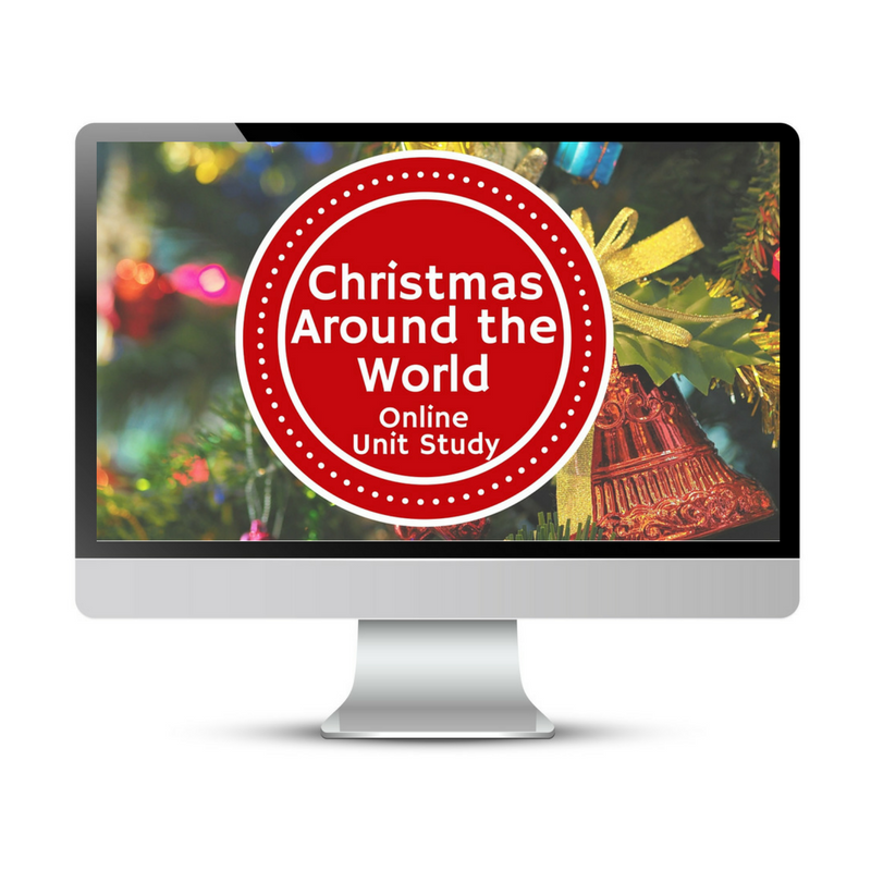 Learn about Christmas Around the World with Online Unit Studies. Online Unit Studies integrate multiple subjects for multiple ages of students. Students access websites and videos and complete digital projects. With Online Unit Studies' easy-to-use E-course format, no additional books and print resources are needed. Just gather supplies for hands-on projects and register for online tools.