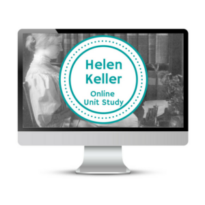 Helen Keller Unit Study. This homeschool curriculum integrates multiple subjects for multiple ages of students. Access websites and videos and complete digital projects. With Online Unit Studies' easy-to-use E-course format, no additional books and print resources are needed. Just gather supplies for hands-on projects and register for online tools.
