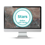 Stars Unit Study. This homeschool curriculum integrates multiple subjects for multiple ages of students. Access websites and videos and complete digital projects. With Online Unit Studies' easy-to-use E-course format, no additional books and print resources are needed. Just gather supplies for hands-on projects and register for online tools.
