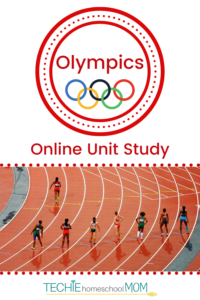 Learn about the Olympics with Online Unit Studies. This homeschool curriculum integrates multiple subjects for multiple ages of students. Access websites and videos and complete digital projects. With Online Unit Studies' easy-to-use E-course format, no additional books and print resources are needed. Just gather supplies for hands-on projects and register for online tools.