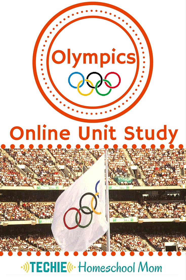 Olympics Online Unit Study (with FREE lessons)