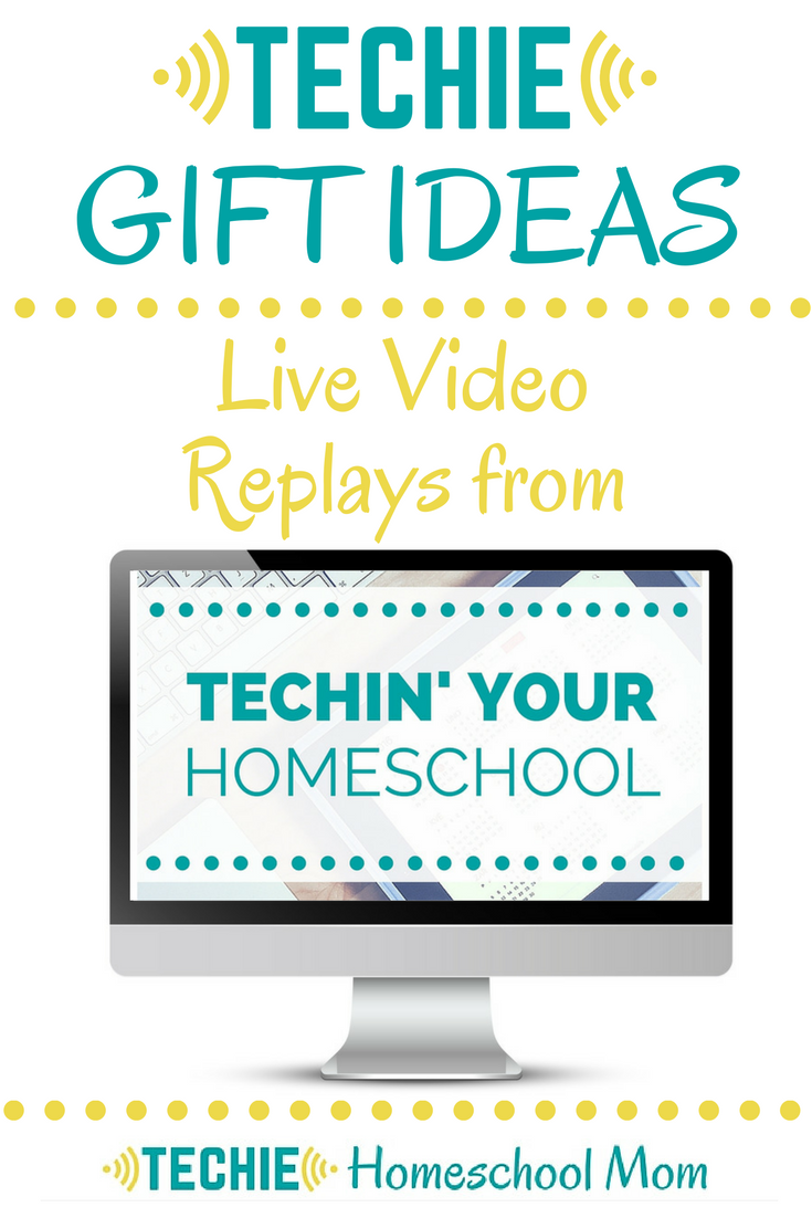 Techie Gift Ideas for Homeschoolers