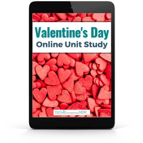 Valentine's Day Unit Study for homeschoolers. Online Unit Studies are Internet-based discovery learning experiences, complete with hands-on and digital projects.