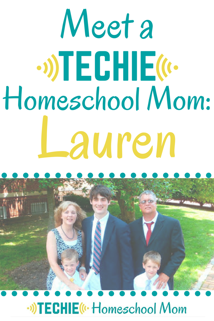 Meet Lauren, a techie homeschool mom, and be inspired to add more digital learning to your homeschool.