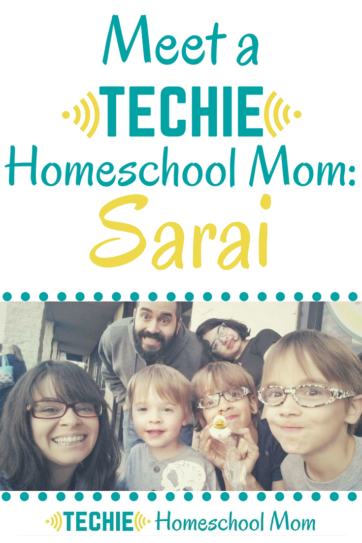 Meet Sarai, a techie homeschool mom, and be inspired to add more digital learning to your homeschool.