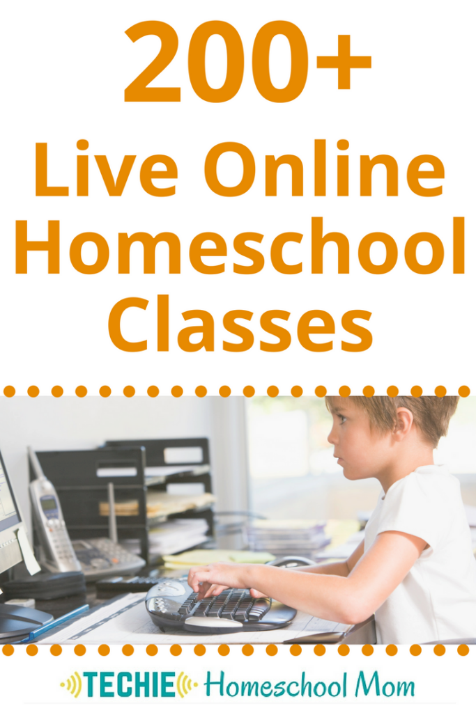 Check out over 200 live online homeschool classes at Outschool. Outschool is a perfect fit for eclectic techie homeschoolers.