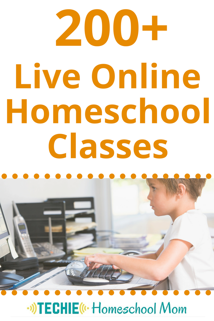 200+ Live Online Homeschool Classes