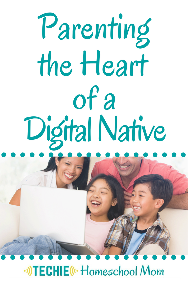 "We are the first generation of parents (aka ""digital immigrants"") raising ""digital natives"". We still don't know quite how to handle tech. We need to get rid of our fears and ignorance about tech so that our kids can develop healthy attitudes about this tool that isn't going away."