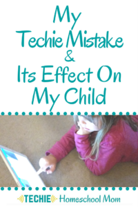 I feel like I've messed up a little bit with my youngest daughter. I feel like I used too much tech too young with her. Now, as comfortable as I am with tech, I'm not a huge fan of kids five and under using lots of it, especially for home education. Read to find out why.