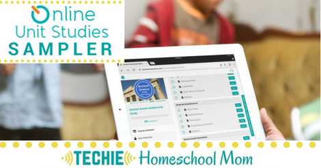 Preview 5 homeschool lessons from Online Unit Studies