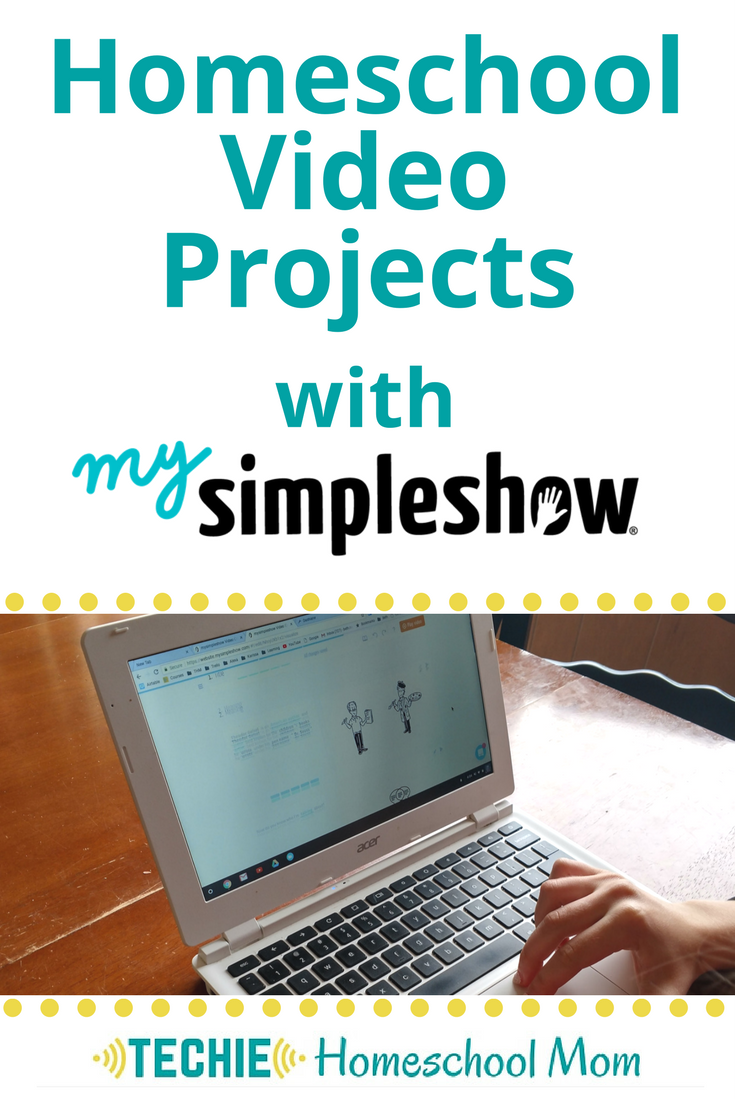 Looking for techie projects for your homeschool? Check out mysimpleshow to create explainer videos about any topic in your lesson plans.