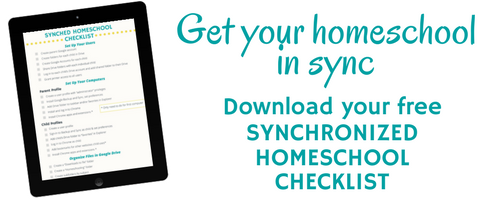 Eliminate techie homeschool hassle and get your computers synchronized