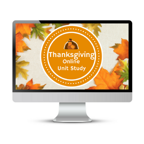 The only homeschool lesson plan you need to learn about Thanksgiving.