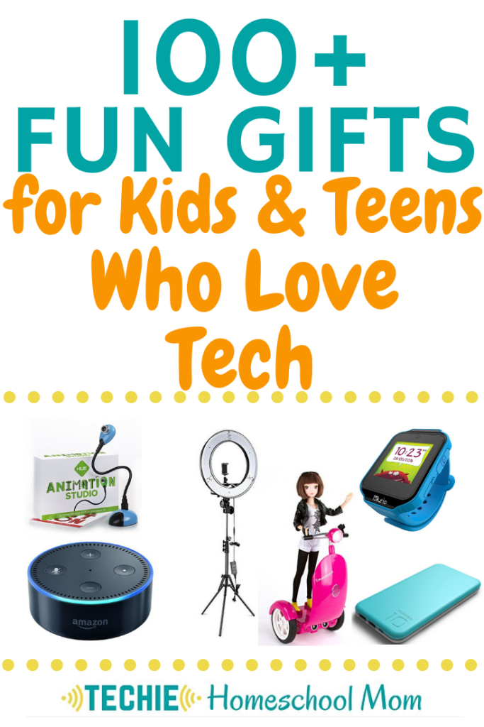 Find the prefect present for techie kids with these lists of fun gifts for kids and teens who love tech.