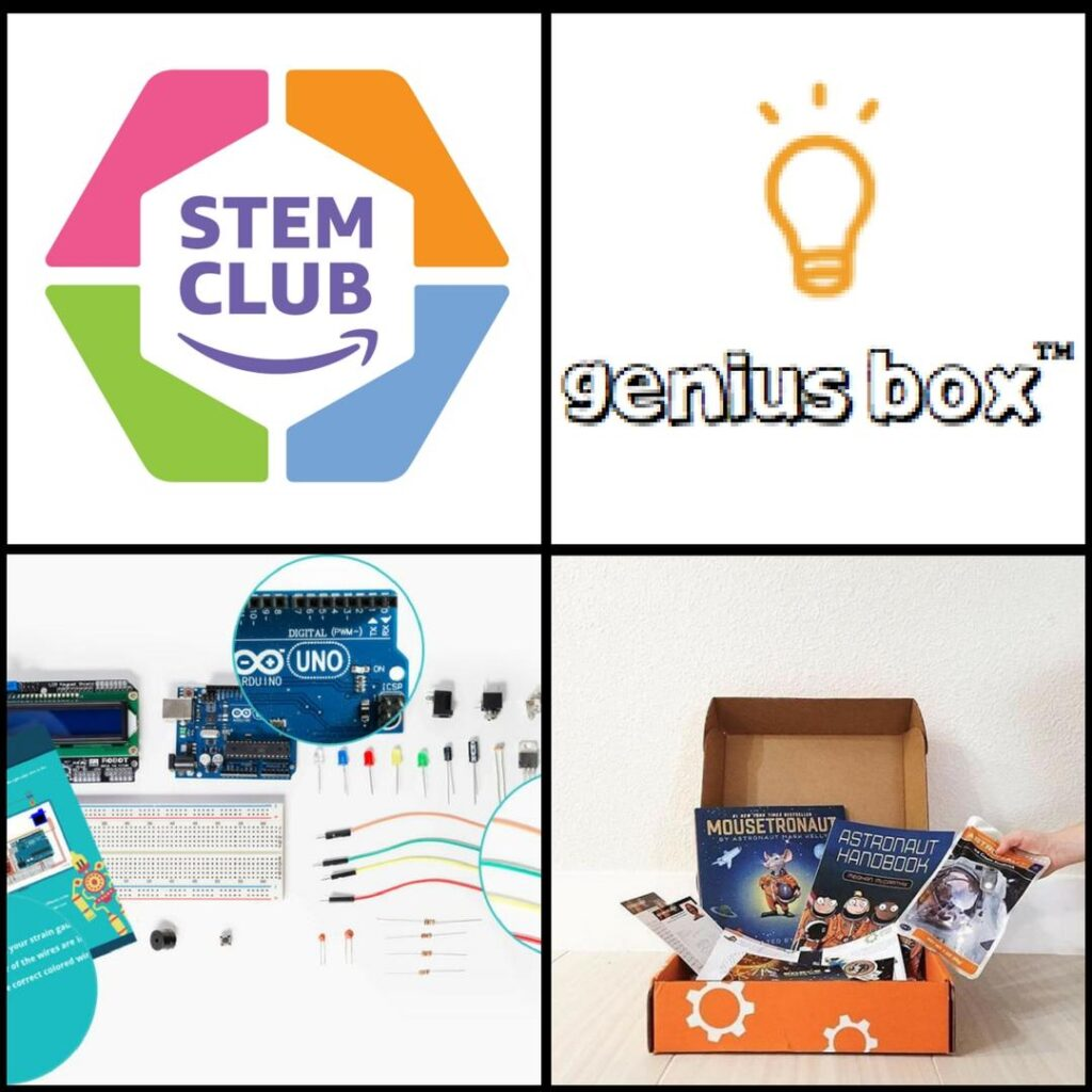 Discover 12 monthly STEM subscription boxes full of techie homeschool fun!