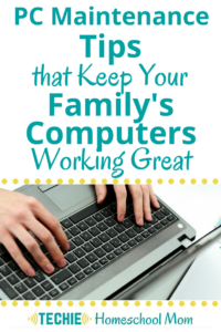PC Maintenance Tips to Keep Your Family's Computers Working Great