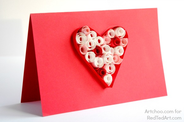 Heart Button Valentine Cards From The Best Ideas For Kids