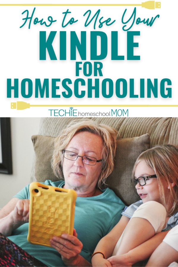 A Kindle isn't just for reading ebooks. Learn all the ways you can use it for homeschooling, including the best type of Kindle to get and recommended educational apps for Kindle.