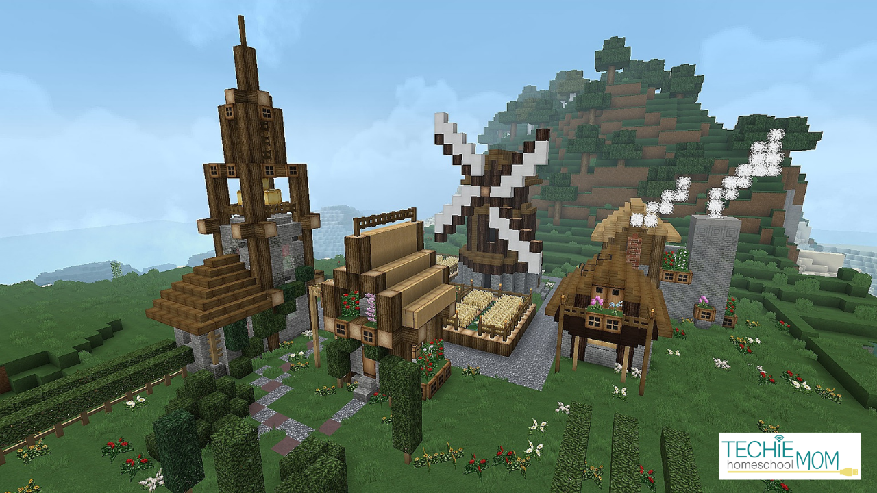 How to Use Minecraft for Homeschooling - Techie Homeschool Mom