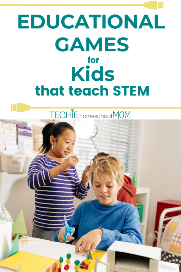 "Check out this list of 'unplugged"" educational games that teach STEM. It's so cool that my techie kids can still learn science, technology, engineering and math concepts with hands-on play."