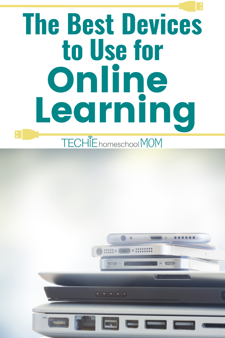 If you're going to be learning online, you need to right devices. Find out the best devices and equipment to get for your homeschooling.
