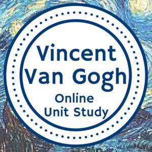 Vincent VanGogh Online Unit Study