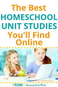 Who doesn't get overwhelmed by all the choices of homeschool curriculum online? If you want to use unit studies, you should check out these digital options for your homeschool lessons..
