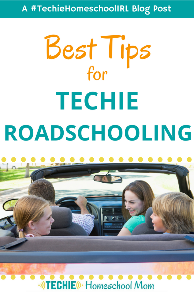 Homeschooling doesn't need to stop when you travel. Learn how one family uses technology to make roadschooling happen.