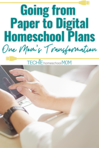Find out how this experienced homeschool mom transformed her homeschool by using apps to keep her homeschool plans organized.