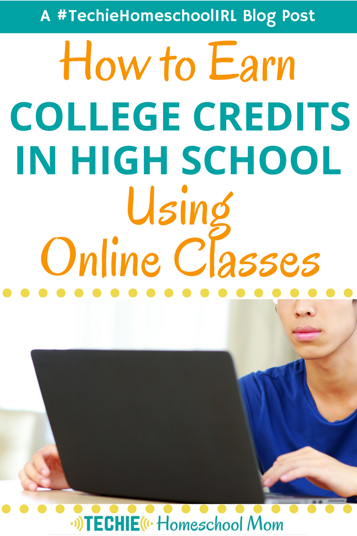 How to Earn College Credits in High School using Online Classes